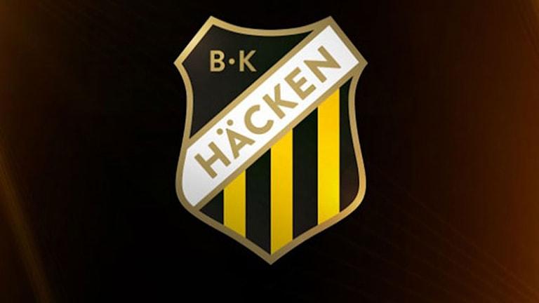 BK Häckens nya klubbmärke. Foto: BK Häcken.