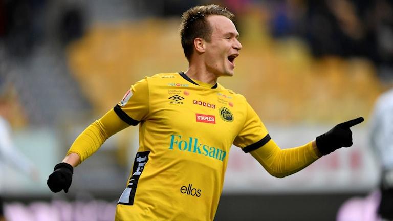 Viktor Prodell öppnade målskyttet för Elfsborg.