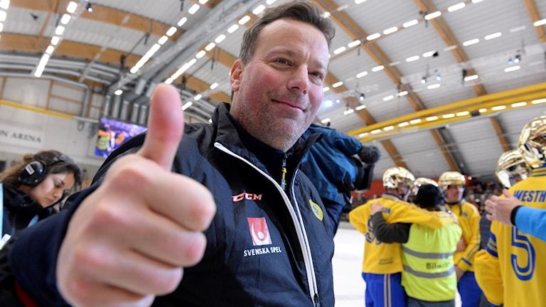 Förbundskapten Svenne Olsson har presenterat VM-truppen.