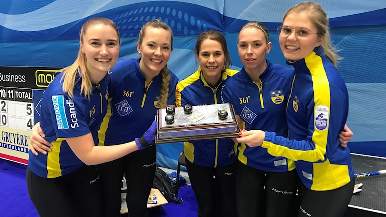 Lag Hasselborg tog EM-guld i curling.