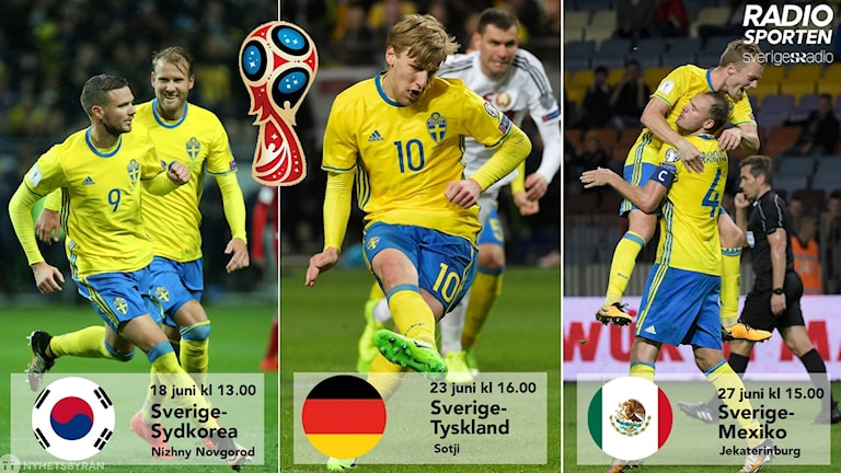 Sveriges VM-lottning