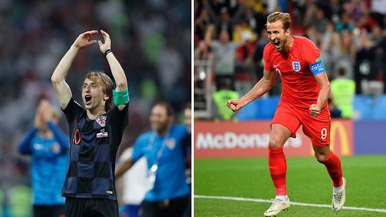 England möter Kroatien i semifinalen.
