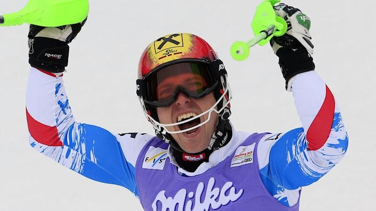 Marcel Hirscher, Österrike. Foto: AFP PHOTO / ALEXANDER KLEIN