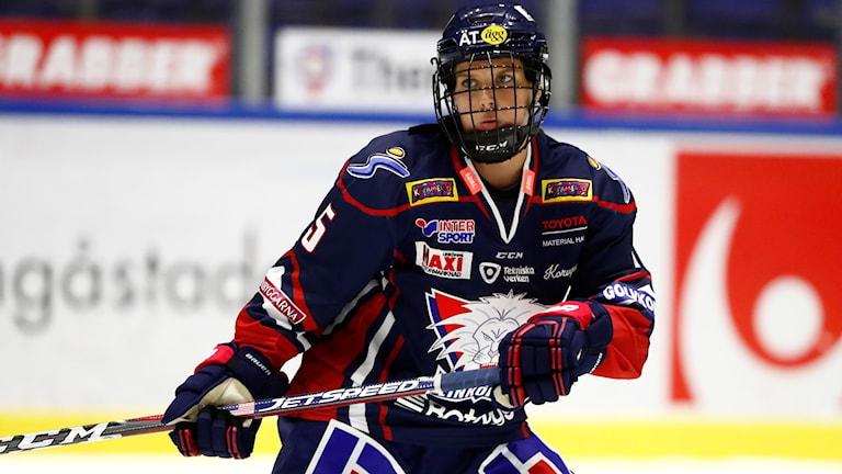 Linköping backstjärna Sidney Morin