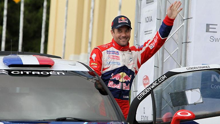 Rallyföraren Sebastian Loeb. Foto: AP Photo/Thanassis Stavraki