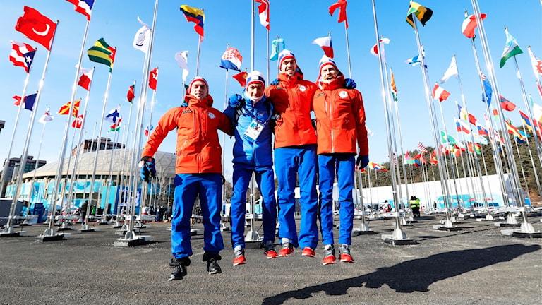 OS 2018 Norska idrottare i Pyeongchang.