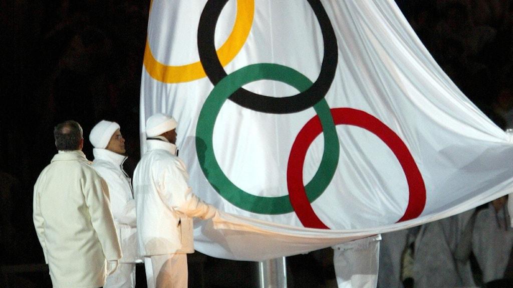 Invigningen av OS i Salt Lake City 2002.