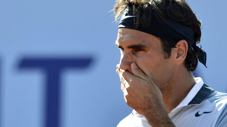 Tennisspelaren Roger Federer 2013. Foto: AP Photo/Keystone/Peter Schneider