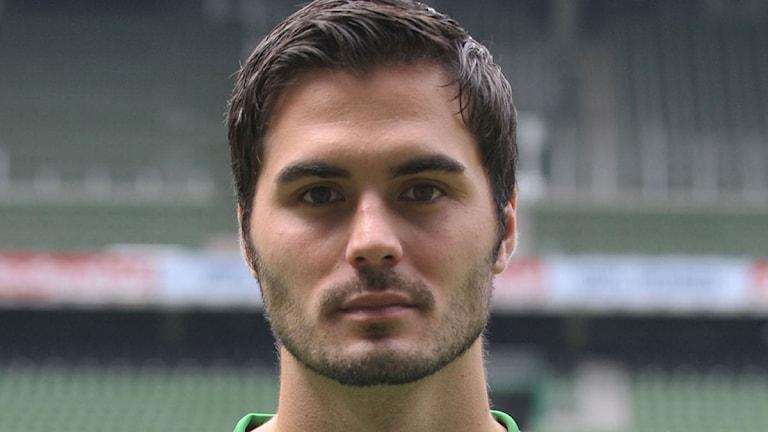 Fotbollsspelaren Denni Avdic. (arkivbild från 2011). Foto: AFP Photo/Carmen Jaspersen