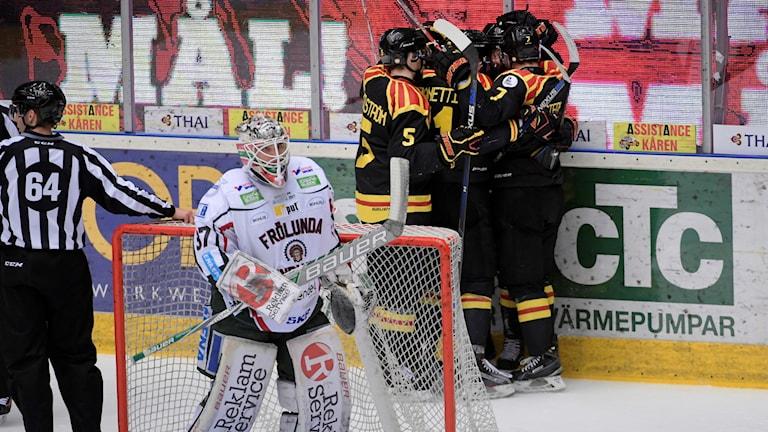 Brynäs slog Frölunda.