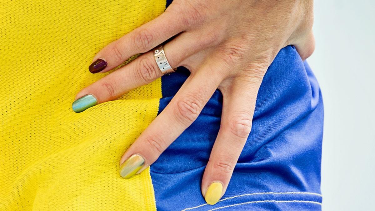 2013, friidrotts-VM, Emma Green Tregaros naglar.
