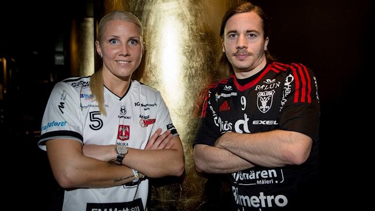 Anna Wijk och Alexander Galante Carlström spelar, precis som i fjol, SM-final.