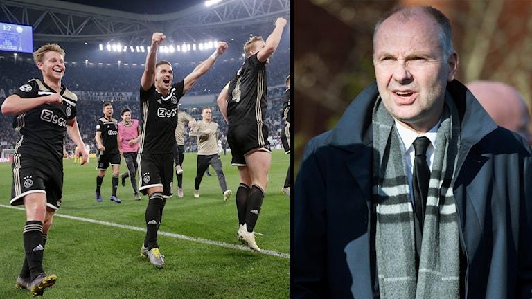 Håkan Mild är inte chockad över att Ajax är i Champions League-semifinal.
