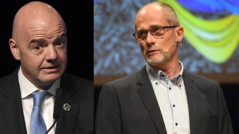 Lars-Christer Olsson är inte imponerad över förslaget om 48 lag i VM 2022.