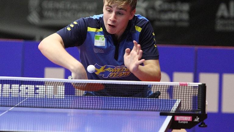 16-årige Truls Möregårdh inledde med två vinster i sin EM-debut.