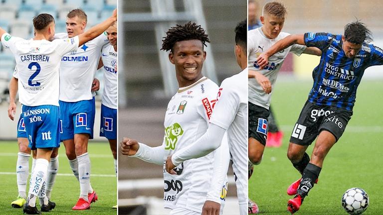 Norrköping, Varberg och Sirius överraskar hittills i Allsvenskan