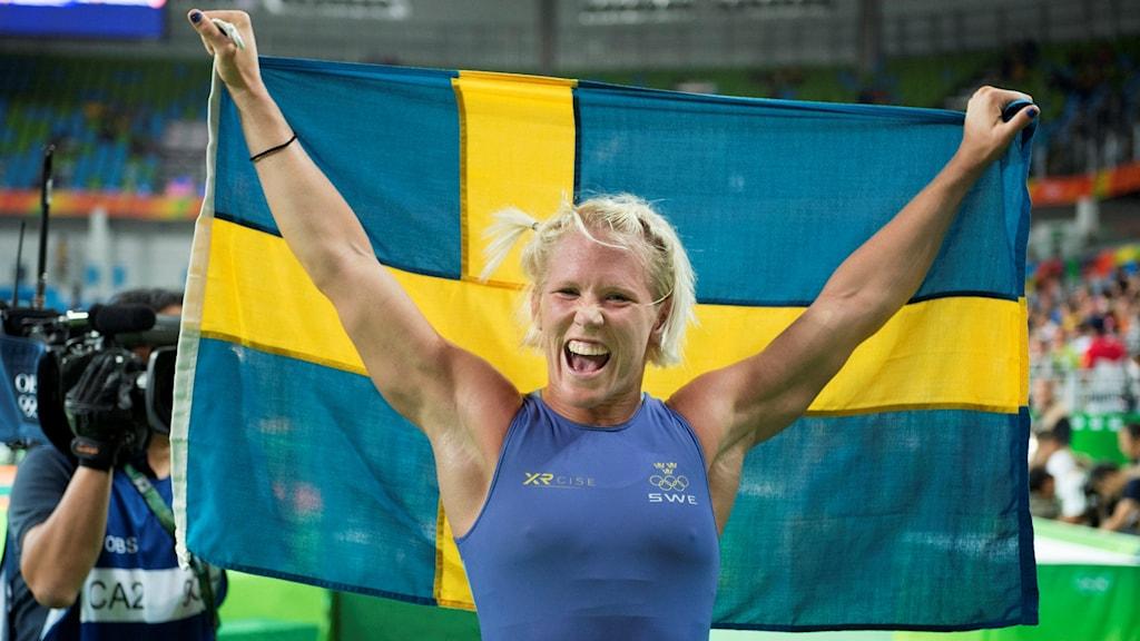 Svensk bronsglädje för Jenny Fransson.