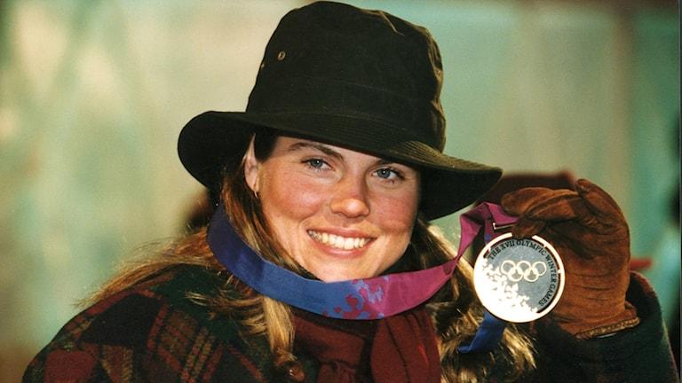 OS 1994 Pernilla Wiberg. Foto: TT