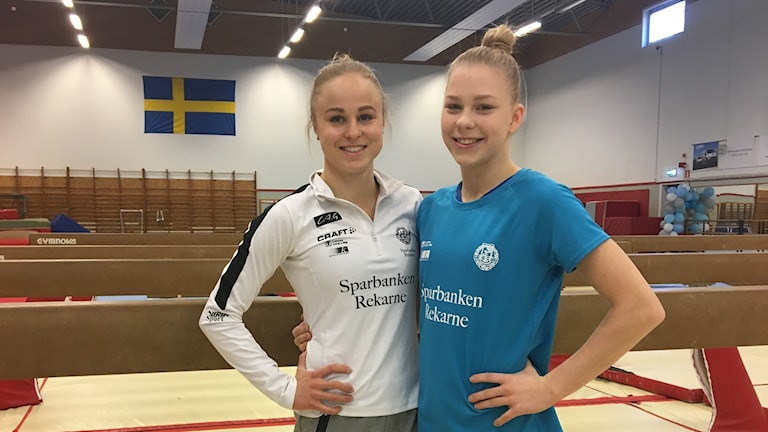 Jonna Adlerteg (tv) och Jessica Castles.