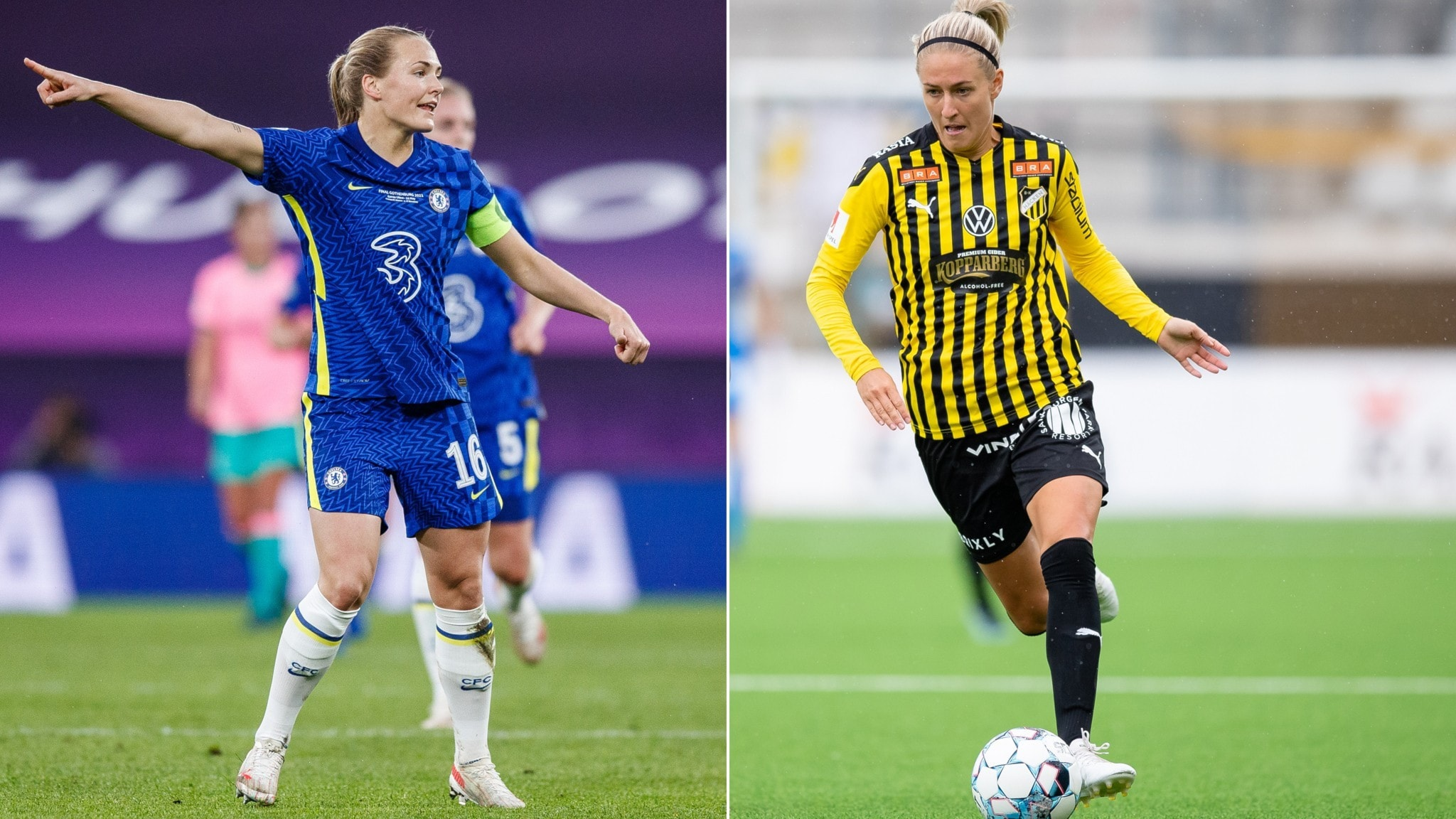 Emma Kullberg before CL draw: It would be fun to meet Chelsea – Radiosporten – Radio Sweden