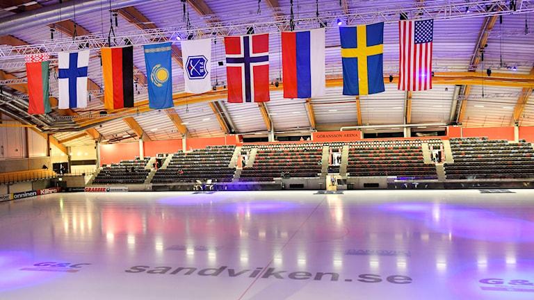 Bandy-VM i Sandviken 2017.