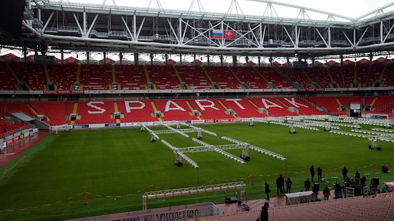 Spartak Stadium i Moskva.