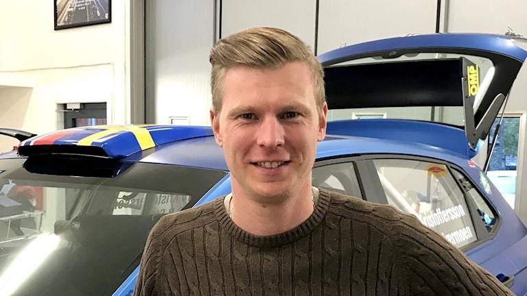 Rallycrossföraren Johan Kristoffersson.