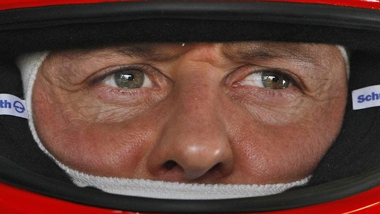 Arkivbild: Sjufaldige F1-världsmästaren Michael Schumacher. Foto: Ben Curtis/TT.