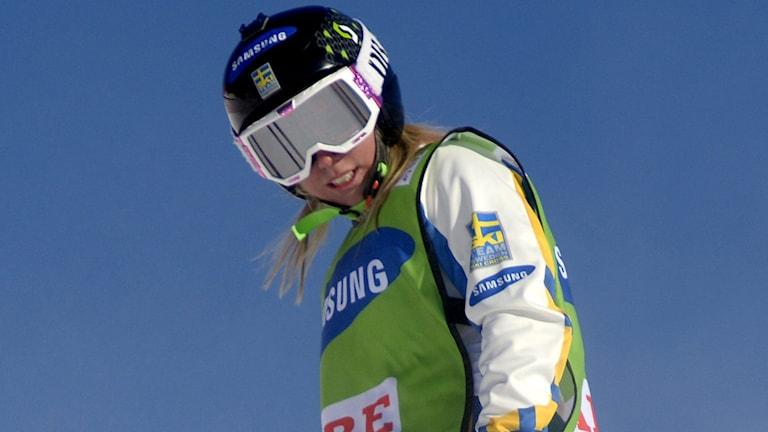 2014, Sandra Näslund, Foto: TT