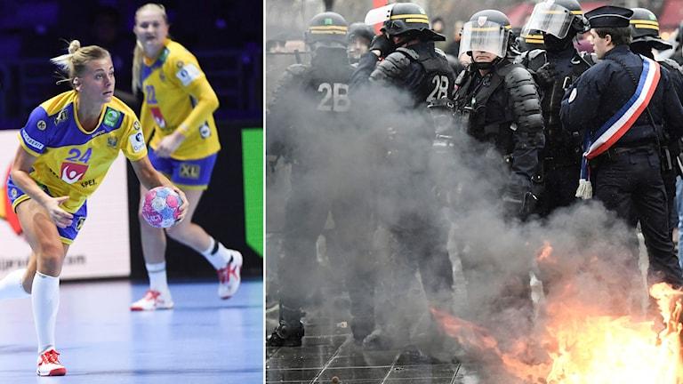 De franska protesterna gör att Sveriges EM-match flyttas.