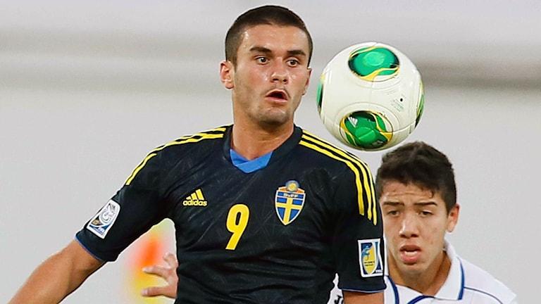 Valmir Berisha. Foto: AFP Photo/STR/TT