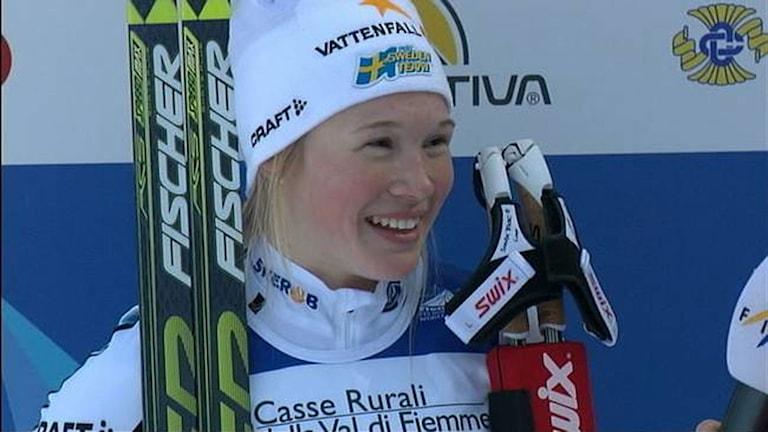 IFK Umeås längdskidåkare Jonna Sundling.