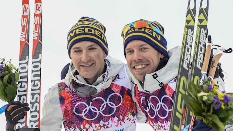 2014, Teodor Peterson och Emil Jönsson, Foto: TT