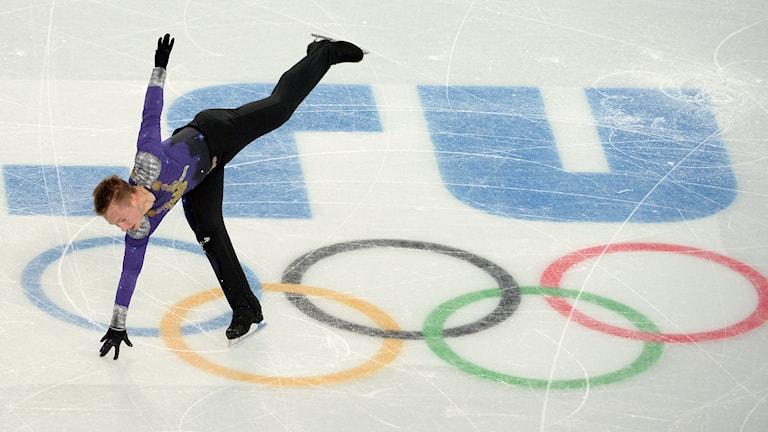 Konståkaren Alexander Majorov. Foto: AFP Photo/ Jung Yeon-Je/TT
