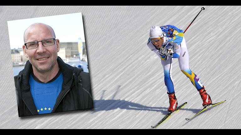 STOCKHOLM 20110519 Torgny Mogren, f.d. längdskidåkare som medverkar i inspelningen av TV3:s 'Superstars' Foto Bertil Ericson / SCANPIX