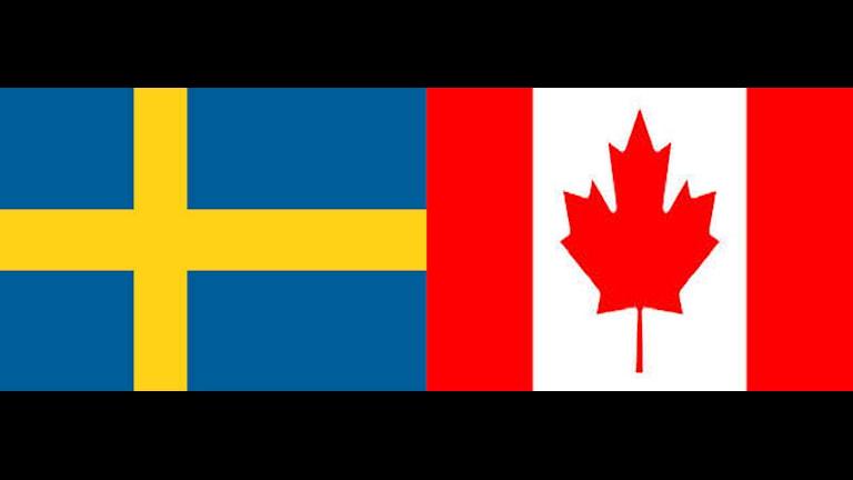 Collage Sverige-Kanada