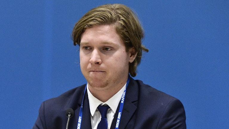 2014, Nicklas Bäckström, Foto: TT