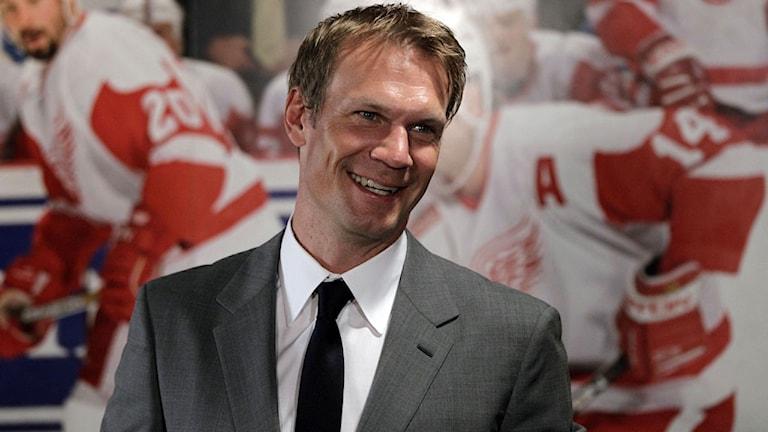 Arkivbild. Nicklas Lidström. Foto: AP Photo/Carlos Osorio