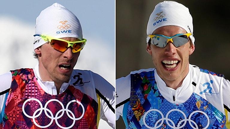 2014, Johan Olsson och Marcus Hellner, Foto: TT