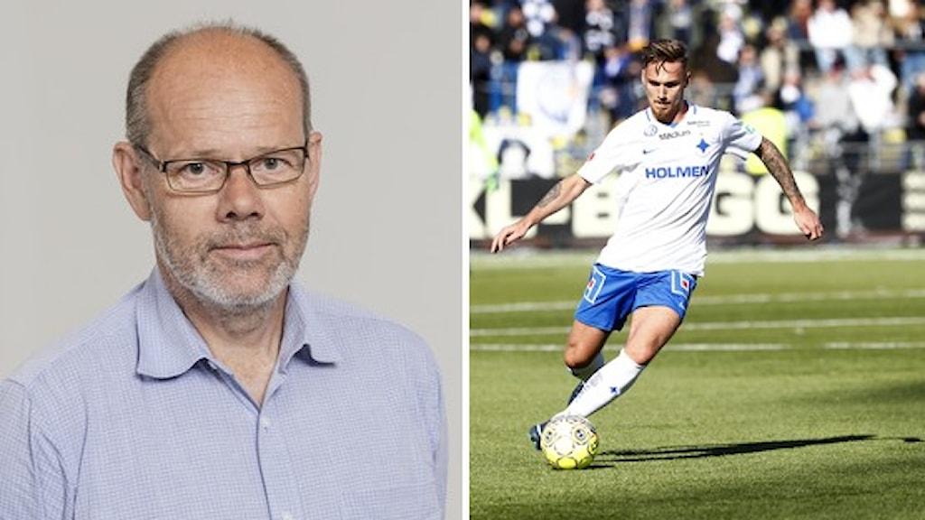 Dag Malmqvist och Linus Wahlqvist.