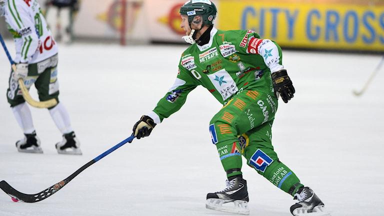 STOCKHOLM 20140301 Hammarbys Stefan Erixon i lördagens semifinalmatch mellan Hammarby IF och Västerås SK på Zinkensdamms IP. Foto: Henrik Montgomery / TT