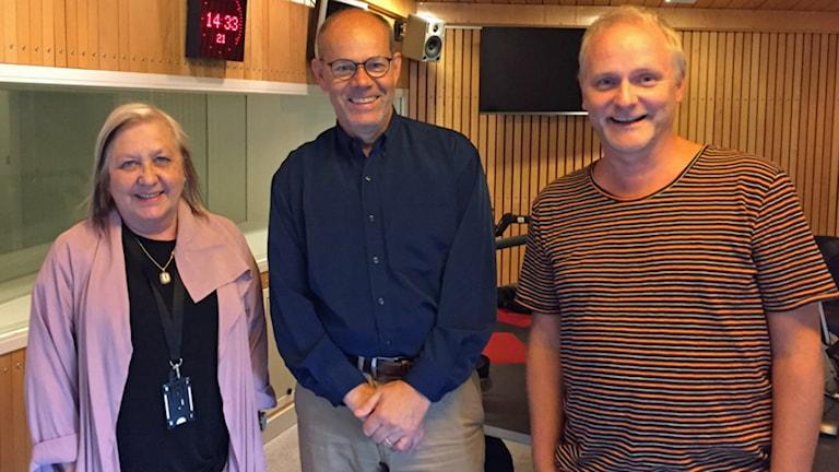 Kerstin Behrendtz, Dag Malmqvist och Germund Stenhag