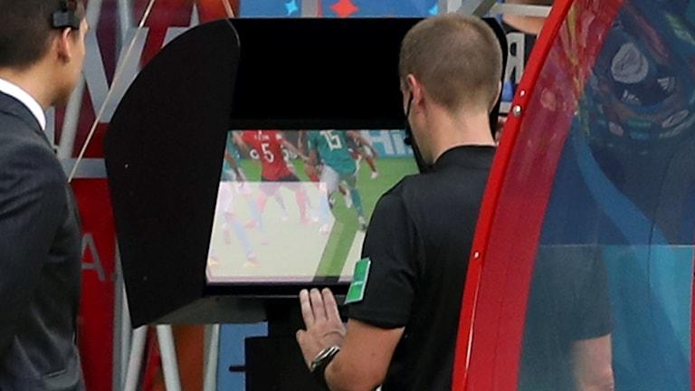 VAR användes under fotbolls-VM i Ryssland somras.