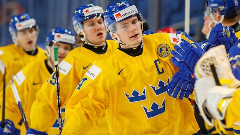 Lias Andersson är lagkapten i Juniorkronorna.