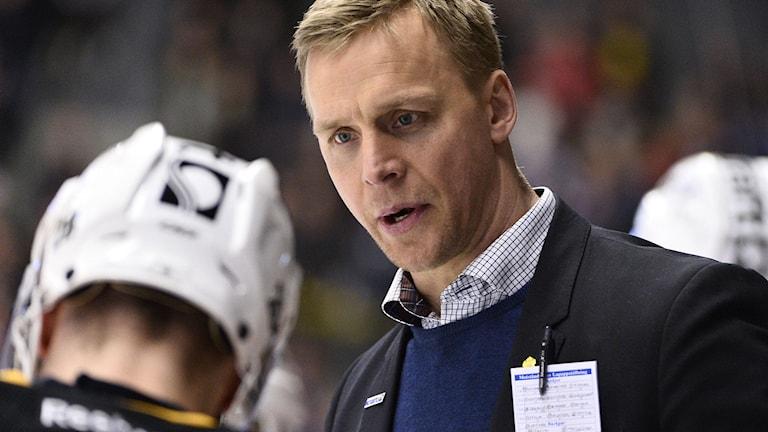 Bert Robertsson, Skellefteå AIK. Foto: Claudio Bresciani / TT.