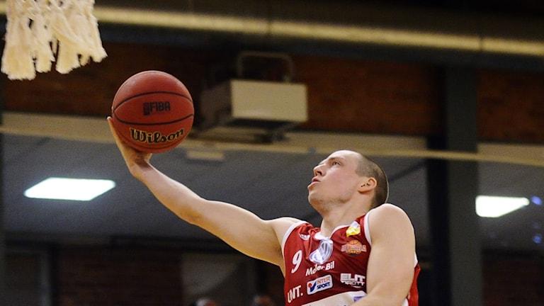 2014, Uppsala Basket. Foto: TT