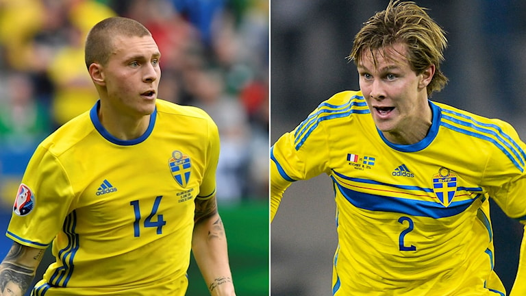 Victor Nilsson Lindelöf och Emil Krafth