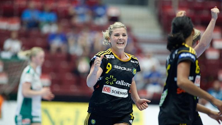 20140524 Sävehofs Frida Tegstedt i damhandbollsfinalen Sävehof-Skuru i Malmö Arena. Foto: Drago Prvulovic/TT