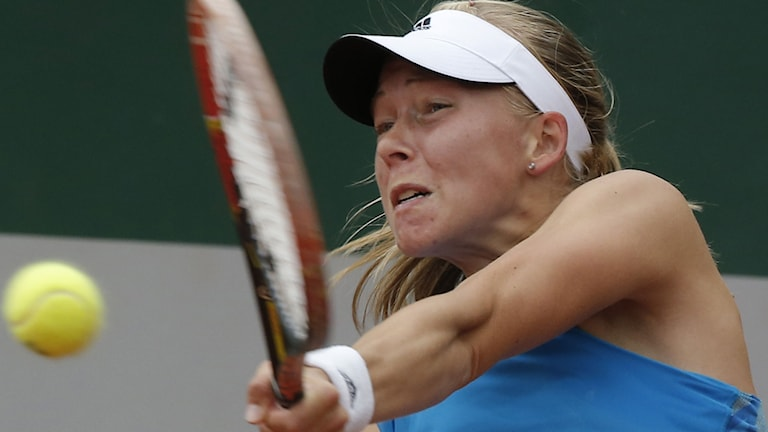 Johanna Larsson. Foto: AP Photo/Michel Euler