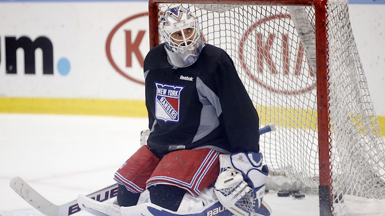 Henrik Lundqvist, NY Rangers. Foto: TT.